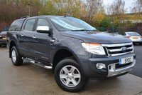 2015 FORD RANGER 2.2 LIMITED 4X4 DCB TDCI 5d 148 BHP ~ LEATHER ~ SAT NAV ~ REVERSE CAM £12999.00