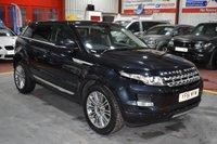 2011 LAND ROVER RANGE ROVER EVOQUE 2.2 SD4 PRESTIGE 5d AUTO 190 BHP £17795.00