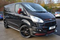 "2016 FORD TRANSIT CUSTOM 2.2 270 LIMITED LR P/V 4d 124 BHP ~ RS CONVERSION ~ LEATHER ~ 20"" ALLOYS £15999.00"