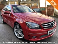 USED 2008 58 MERCEDES-BENZ CLC CLASS  CLC 220 CDI AUTO SPORT IN RED UK DELIVERY* RAC APPROVED* FINANCE ARRANGED* PART EX
