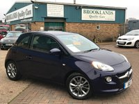 2015 VAUXHALL ADAM 1.2 JAM Pump Up The Blue Metallic 69 BHP £6995.00