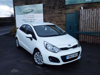 USED 2013 63 KIA RIO 1.2 2 5d 83 BHP Full Service History Only £30 Road Tax