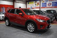 2014 MAZDA CX-5 2.2 D SPORT NAV 5d AUTO 173 BHP £13485.00