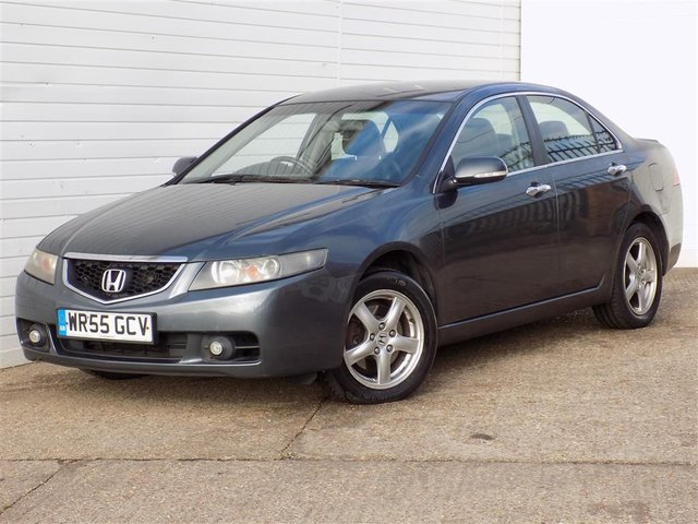 USED 2005 55 HONDA ACCORD 2.2 I-CTDI SPORT 4d 140 BHP LEATHER MOT SEPT 2019