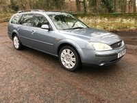 2002 FORD MONDEO 2.5 GHIA X V6 24V 5d 170 BHP £1495.00