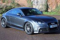 2012 AUDI TT 2.0 TFSI QUATTRO S LINE BLACK EDITION 2d 208 BHP £14495.00