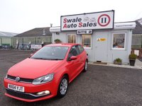 USED 2014 64 VOLKSWAGEN POLO 1.0 SE 3 DOOR 60 BHP £36 PER WEEK, NO DEPOSIT - SEE FINANCE LINK