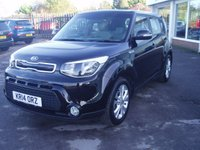2014 KIA SOUL 1.6 CRDI CONNECT PLUS 5d 126 BHP £7995.00