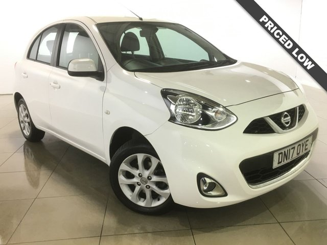 View our 2017 17 NISSAN MICRA 1.2 ACENTA 5d 79 BHP