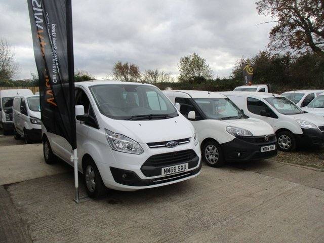 2016 66 FORD TRANSIT CUSTOM 2.0 290 LIMITED LR DCB 1d 130 BHP