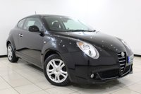 USED 2010 60 ALFA ROMEO MITO 1.4 TURISMO 16V 3DR 95 BHP  SUPERB SERVICE HISTORY + AIR CONDITIONING + MULTI FUNCTION WHEEL + RADIO/CD + ELECTRIC WINDOWS + ELECTRIC MIRRORS + 16 INCH ALLOY WHEELS