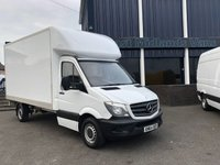 USED 2015 64 MERCEDES-BENZ SPRINTER 313 CDI LUTON 2.1 130 BHP 2014 (64) Plate White