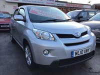 USED 2010 10 TOYOTA URBAN CRUISER 1.3 VVT-I 5d 100 BHP Hard to find urban cruiser, air/con, 6 speed, alloys, proven reliability
