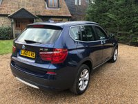 USED 2010 60 BMW X3 2.0 XDRIVE20D SE 5d AUTO 181 BHP 1 OWNER, FACELIFT,VGC,FSH