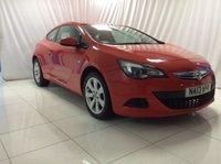 2013 VAUXHALL ASTRA 1.4 GTC SPORT S/S 3d 118 BHP £5000.00