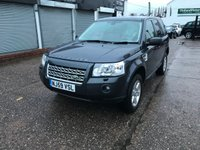 2009 LAND ROVER FREELANDER 2.2 TD4 E GS 5d 159 BHP £6999.00