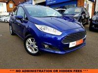 2015 FORD FIESTA 1.6 ZETEC 5d AUTO 104 BHP £8790.00
