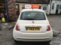 USED 2013 63 FIAT 500 1.2 POP 3d 69 BHP Only 19,000 Miles & £30 Road Tax, Full Fiat Service History & Just Had a Fiat Service & Mot,Low Insurance Group !!!