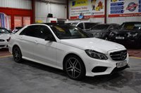 USED 2015 65 MERCEDES-BENZ E-CLASS 2.1 E220 BLUETEC AMG NIGHT EDITION PREMIUM 4d AUTO 174 BHP