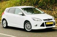 2012 FORD FOCUS 1.6 ZETEC S S/S 5d AUTO 124 BHP £8500.00