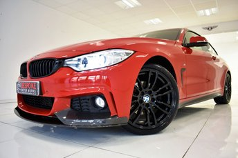 2014 BMW 4 SERIES 420D M SPORT COUPE £17750.00