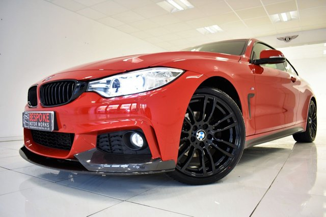 2014 64 BMW 4 SERIES 420D M SPORT COUPE