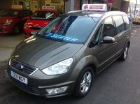USED 2011 11 FORD GALAXY 2.0 TDCI ZETEC  7 SEATER **  7 SEATER  **