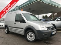 USED 2013 13 FORD TRANSIT CONNECT 1.8 T230 HR VDPF 1d 89 BHP Long Wheel Base, High Roof, Air Con, Only 30,000 Miles.