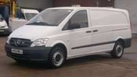 2013 MERCEDES-BENZ VITO 2.1 113 CDI BLUEEFFICIENCY 1d 136 BHP  LWB £300 CASH BACK IN DECEMBER!!! 1 OWNER F/S/H 2 KEYS FREE 12 MONTHS WARRANTY COVER £7390.00