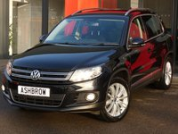 USED 2015 65 VOLKSWAGEN TIGUAN 2.0 TDI MATCH EDITION BMT 4MOTION DSG 5d AUTO 150 S/S SAT NAV, KEYLESS ENTRY & START, FRONT & REAR PARKING SENSORS WITH DISPLAY, PARK ASSIST WITH AUTOMATIC STEERING, DAB RADIO, BLUETOOTH PHONE & MUSIC STREAMING, 18 INCH 10 SPOKE ALLOYS, CRUISE CONTROL, AUX & USB INPUTS, AUTO HILL HOLD, DSG AUTOMATIC GEARBOX, 4 MOTION 4X4, START STOP TECHNOLOGY, LIGHT & RAIN SENSORS WITH AUTO DIMMING REAR VIEW MIRROR, LEATHER MULTIFUNCTION STEERING WHEEL, 1 OWNER FROM NEW, FULL SERVICE HISTORY, VAT Q
