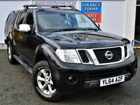 USED 2015 64 NISSAN NAVARA 2.5 DCI TEKNA 4X4 Double Cab 5 Seat Pickup with Heated Leather Seats Rear Snug-top Canopy Towbar and Side Steps ONE OWNER FROM NEW