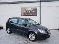 2014 VAUXHALL ZAFIRA 1.8 EXCLUSIV 5d 120 BHP £5995.00