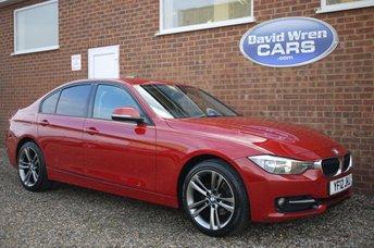 2012 BMW 3 SERIES 2.0 318D SPORT 4d 141 BHP £10495.00