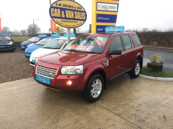 2007 LAND ROVER FREELANDER SE 4X4 2.2 TD4 **11 SERVICE STAMPS**FIND A CLEANER ONE** £7295.00