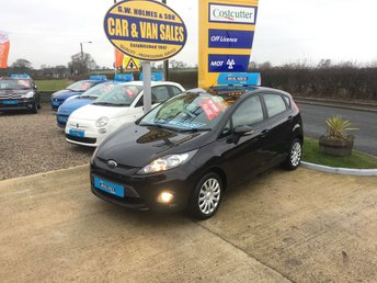2012 FORD FIESTA EDGE 1.2 5 DOOR **ONE OWNER**FFSH**ONLY 23,000 MILES** £SOLD