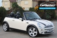 USED 2008 08 MINI CONVERTIBLE 1.6 COOPER 2d 118 BHP