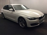 USED 2012 62 BMW 3 SERIES 2.0 320D SPORT 4d AUTO 184 BHP AMZING CAR WITH AMAZING SPEC, FINISHED IN GLEAMING WHITE  FULL SERVICE HISTORY  ,THIS CAR IS A GREAT EXAMPLE OF A PRESTIGE SALOON, IT COMES WITH SOME GREAT SPEC, BLUETOOTH PHONE AND MUSIC PREP, AUX AND USB POINTS, SPORTS /ECO MODES, MULTI FUNCTION LEATHER CLAD STEERING WHEEL, STOP START, PRIVACY GLASS, DAB CD RADIO, ELEC MIRRORS, ELEC WINDOWS, CRUSE CONTROL, MOBIL SAT NAV , PARKING SENSORS,  UPGRADED ALLOYS AT ADDITIONAL COST