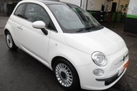 2012 FIAT 500 1.2 LOUNGE 3d 69 BHP £4500.00