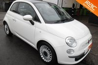 USED 2012 12 FIAT 500 1.2 LOUNGE 3d 69 BHP VIEW AND RESERVE ONLINE OR CALL 01527-853940 FOR MORE INFO.
