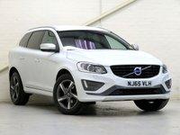 2015 VOLVO XC60 2.0 D4 R-DESIGN LUX NAV 5d AUTO 188 BHP £20476.00