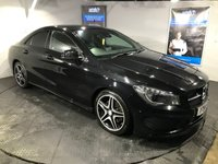 USED 2014 14 MERCEDES-BENZ CLA 2.1 CLA220 CDI AMG SPORT 4d 170 BHP Only £30 a year road tax   :   Bluetooth   :   Satellite Navigation   :   Full leather upholstery   :             Electric  +  Heated front seats       :       Electric driver  +  passenger seats        :       Reversing camera plus front / rear parking sensors