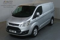 USED 2017 17 FORD TRANSIT CUSTOM 2.0 290 LIMITED 130 BHP L1 H1 SWB EURO 6 AIR CON VAN AIR CONDITIONING EURO 6 ENGINE