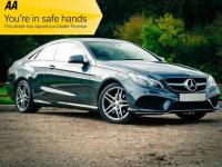 USED 2015 65 MERCEDES-BENZ E CLASS 3.0 CDI BlueTEC AMG Line 9G-Tronic Plus (s/s) 2dr