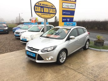 2014 FORD FOCUS TITANIUM NAVIGATOR 1.6 TDCI 5 DOOR **FSH**ONLY 50,000 MILES** £SOLD