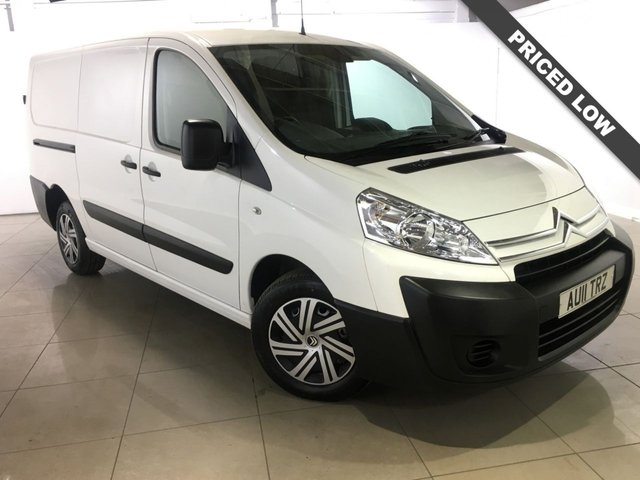 View our 2011 11 CITROEN DISPATCH 2.0 LX 1200 L2H1 LWB HDI 120 1d 118 BHP