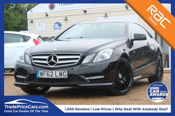 2012 MERCEDES-BENZ E CLASS 3.0 E350 CDI BLUEEFFICIENCY SPORT 2d AUTO 265 BHP £14500.00