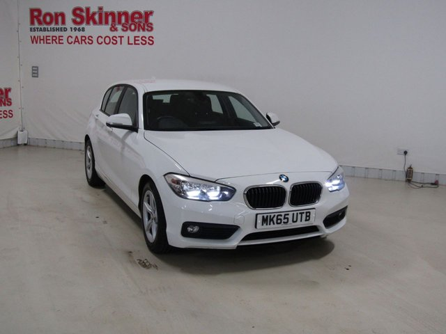 View our 2015 65 BMW 1 SERIES 1.5 116D ED PLUS 5d 114 BHP