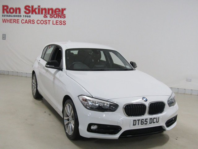 View our 2016 65 BMW 1 SERIES 1.5 118I SPORT 5d 134 BHP