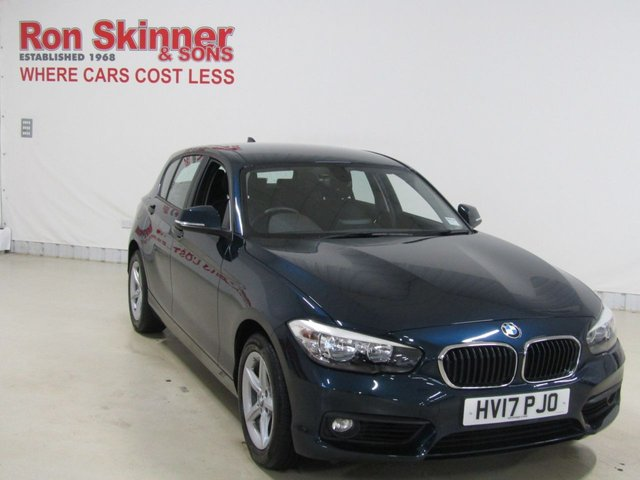 View our 2017 17 BMW 1 SERIES 2.0 118D SE 5d 147 BHP