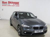 USED 2016 16 BMW 1 SERIES 1.5 118I SPORT 5d 134 BHP